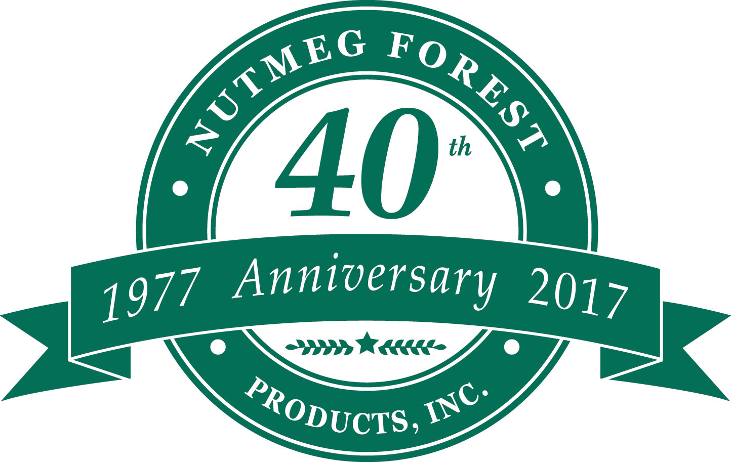 Nutmeg 40th Anniversary Logo4web
